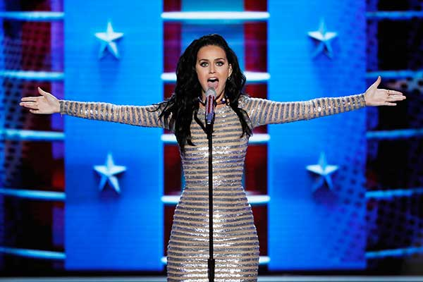 <div class='meta'><div class='origin-logo' data-origin='none'></div><span class='caption-text' data-credit='J. Scott Applewhite/AP Photo'>inger Katy Perry performs during the final day of the Democratic National Convention in Philadelphia , Thursday, July 28, 2016.</span></div>