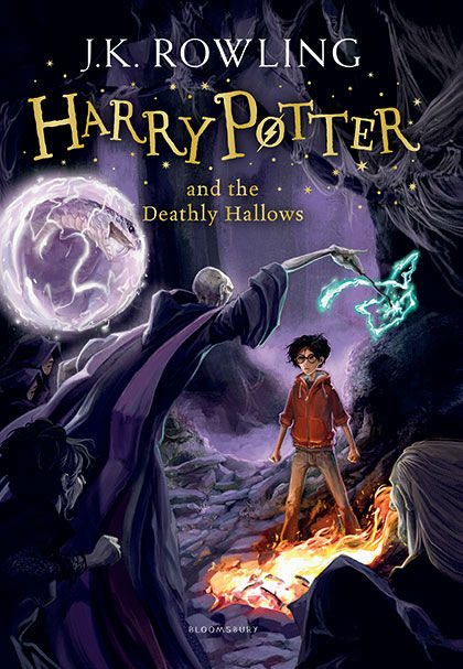 "<div class=""meta ""><span class=""caption-text "">Harry stands his ground against Voldemort in the Forbidden Forest during the final battle. (Jonny Duddle/Bloomsbury)</span></div>"
