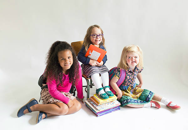 <div class='meta'><div class='origin-logo' data-origin='none'></div><span class='caption-text' data-credit='Photo/5 boys + 1 girl = 6 Photography'>Katie Driscoll has partnered with more than 100 companies who have pledged to include children with disabilities in their back-to-school ads. This one is for Livie & Luca.</span></div>