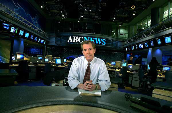<div class='meta'><div class='origin-logo' data-origin='none'></div><span class='caption-text' data-credit='AP Photo/GINO DOMENICO'>Jennings poses on the set of ABC's ''World News Tonight'' in New York in February 2001.</span></div>