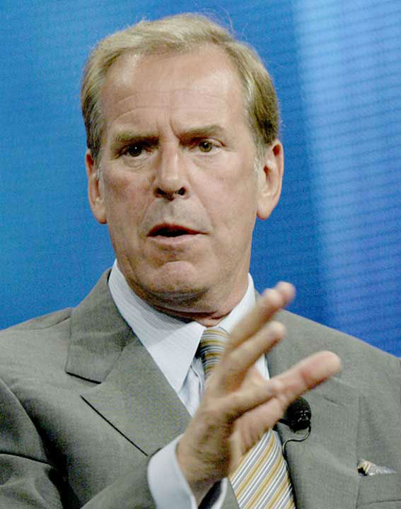 <div class='meta'><div class='origin-logo' data-origin='none'></div><span class='caption-text' data-credit='AP Photo/NICK UT'>Jennings speaks to the media in 2004 during the Television Critics Association press tour.</span></div>