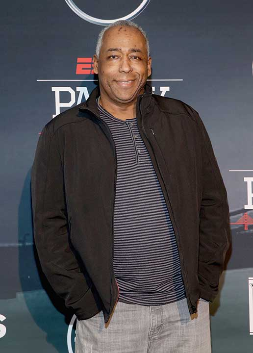 <div class='meta'><div class='origin-logo' data-origin='none'></div><span class='caption-text' data-credit='Robin Marchant/Getty Images for ESPN'>John Saunders, a longtime ESPN host, has died at age 61, ESPN announced on August 10.</span></div>