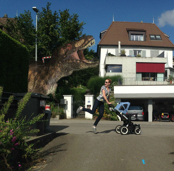 "<div class=""meta ""><span class=""caption-text "">This photoshop project came about when the couple, who had never babysat their friends' kid before, decided to play with the question, ''What's the worst thing that can go wrong?'' (Photo/Courtesy of Hannes & Erica)</span></div>"
