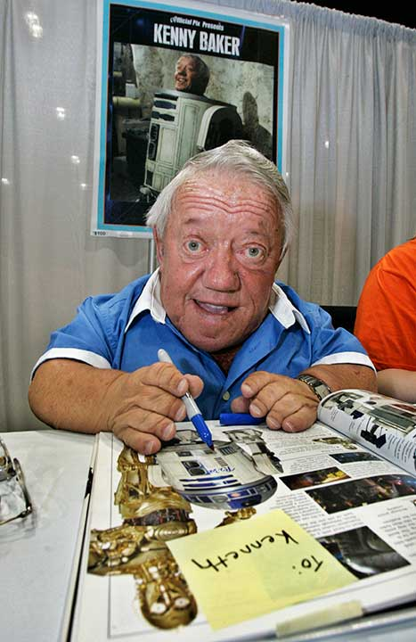 "<div class=""meta image-caption""><div class=""origin-logo origin-image none""><span>none</span></div><span class=""caption-text"">Kenny Baker,, the actor best known for R2-D2 in the ''Star Wars'' films, was found dead in his home on August 13, 2016. He was 81. (Reed Saxon/AP Photo)</span></div>"