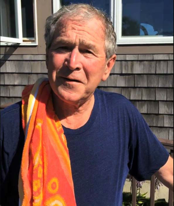 "<div class=""meta image-caption""><div class=""origin-logo origin-image ""><span></span></div><span class=""caption-text"">President George W. Bush completed the ALS Ice Bucket Challenge with some help from Laura Bush and then challenged President Bill Clinton (Facebook / George W. Bush)</span></div>"