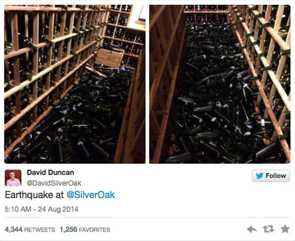 "<div class=""meta ""><span class=""caption-text "">Damage caused to Silver Oak Cellars in Napa Valley. (David Duncan, @SilverOak)</span></div>"