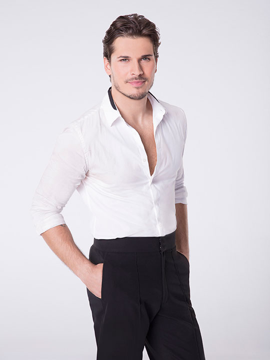 "<div class=""meta image-caption""><div class=""origin-logo origin-image none""><span>none</span></div><span class=""caption-text"">Gleb Savchenko will be competing for a fourth season. (Craig Sjodin/ABC)</span></div>"