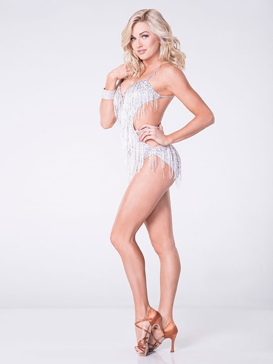 "<div class=""meta image-caption""><div class=""origin-logo origin-image none""><span>none</span></div><span class=""caption-text"">Lindsay Arnold, who came in second place last season with partner David Ross, will be back for a sixth time. (Craig Sjodin/ABC)</span></div>"
