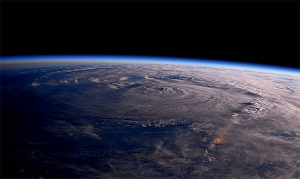 <div class='meta'><div class='origin-logo' data-origin='none'></div><span class='caption-text' data-credit='Astro2fish/Twitter'>Astronaut Jack Fischer posted this photo of the storm from space, saying his thoughts were with those affected and adding ''Houston, we have a hurricane.''</span></div>