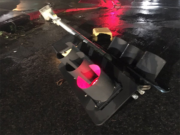 <div class='meta'><div class='origin-logo' data-origin='none'></div><span class='caption-text' data-credit='Briana Whitney of ABC affiliate KIII'>A downed stop light in Corpus Christi, Texas.</span></div>