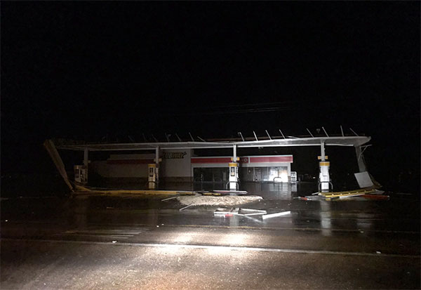 <div class='meta'><div class='origin-logo' data-origin='none'></div><span class='caption-text' data-credit='Justin Horne from ABC affiliate KSAT'>Storm damage is shown in Odem, Texas.</span></div>