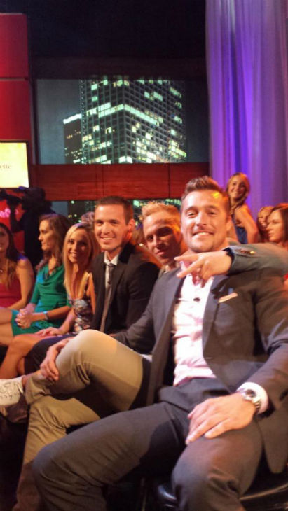 "<div class=""meta image-caption""><div class=""origin-logo origin-image ""><span></span></div><span class=""caption-text"">Chris was a contestant on last season's Bachelorette. (Twitter, Chris Soules)</span></div>"