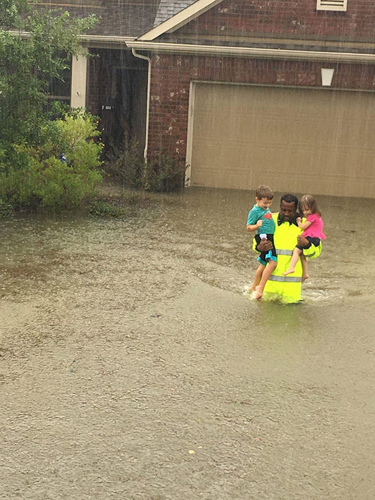 <div class='meta'><div class='origin-logo' data-origin='none'></div><span class='caption-text' data-credit='Harris County Sheriff's Office/Facebook'>''Harris County Sheriff's Office deputies are out in the Blackhorse subdivision still working high water rescues,'' the office wrote on Facebook</span></div>