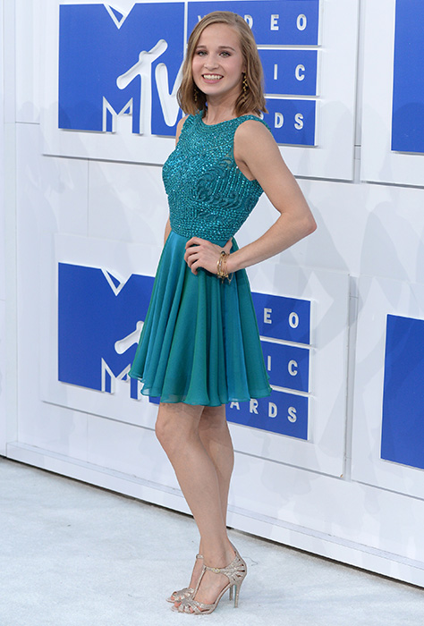"<div class=""meta image-caption""><div class=""origin-logo origin-image ap""><span>AP</span></div><span class=""caption-text"">U.S. Olympic gymnast Madison Kocian arrives at the MTV Video Music Awards at Madison Square Garden on Sunday, Aug. 28, 2016, in New York. (Evan Agostini/Invision/AP)</span></div>"