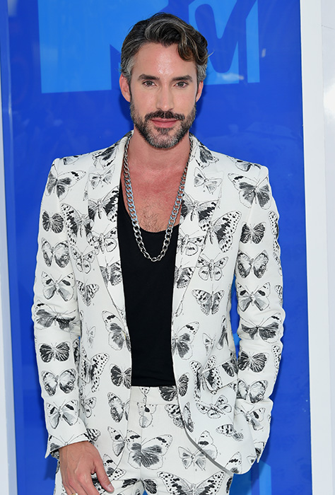 "<div class=""meta image-caption""><div class=""origin-logo origin-image ap""><span>AP</span></div><span class=""caption-text"">Robert Sepúlveda Jr. arrives at the MTV Video Music Awards at Madison Square Garden on Sunday, Aug. 28, 2016, in New York. (Evan Agostini/Invision/AP)</span></div>"