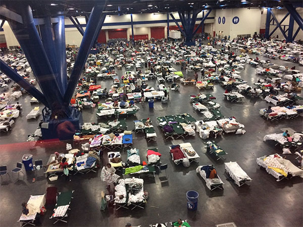 "<div class=""meta image-caption""><div class=""origin-logo origin-image none""><span>none</span></div><span class=""caption-text"">''#PhotosFromTheField: #Evacuees and #NationalGuard take shelter in #Houston on 28 August, 2017. #Harvey'' wrote the Texas Military Department on Twitter. (TXMilitary)</span></div>"