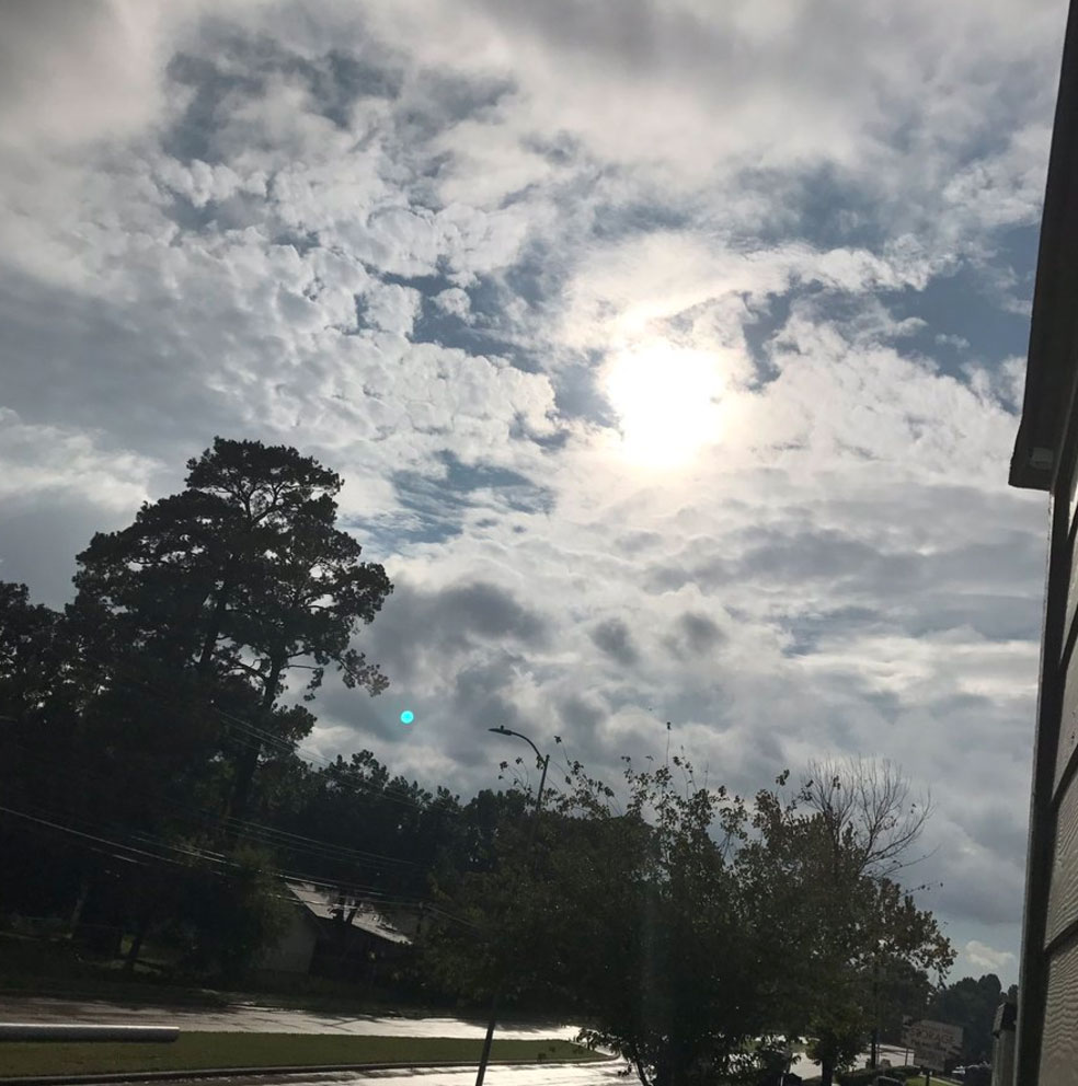 "<div class=""meta image-caption""><div class=""origin-logo origin-image none""><span>none</span></div><span class=""caption-text"">The Twitter user who posted this photo on Tuesday wrote, ''THE SUN IS OUT IN HOUSTON. I repeat. THE SUN IS OUT IN HOUSTON.'' (Gabby Greer)</span></div>"