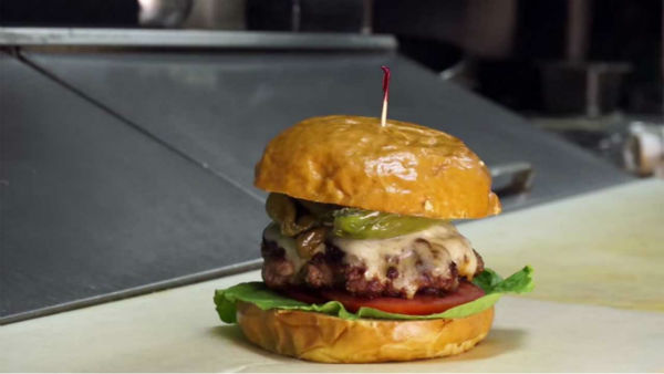 Philadelphia: Nick&#39;s Bacon Burger from Nick&#39;s Roast Beef Bar &amp; Grille  <span class=meta>(Photo&#47;YouTube, Zagat)</span>
