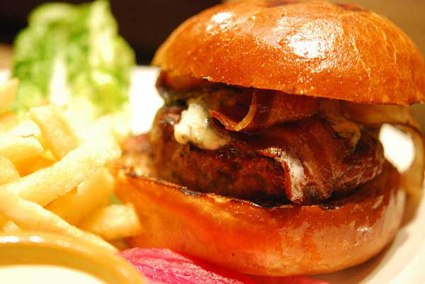 "<div class=""meta image-caption""><div class=""origin-logo origin-image ""><span></span></div><span class=""caption-text"">San Francisco: Grass Fed Hamburger from Nopa  (Bacon cheeseburger pictured) (Flickr, jennifer yin)</span></div>"