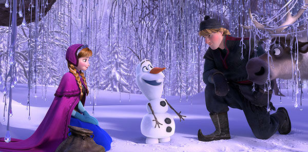 "<div class=""meta ""><span class=""caption-text "">6. Anna ALWAYS wants to build a snowman. Kristen Bell admits that many people have asked the title question of her favorite song, and she always says yes. (AP/Disney)</span></div>"