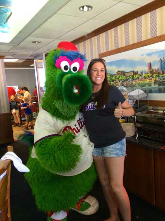 "<div class=""meta image-caption""><div class=""origin-logo origin-image ""><span></span></div><span class=""caption-text"">Jenna at a Phillies baseball game, with Phillie Phanatic (Creative Content Photo/ Facebook, Prayers for Shane)</span></div>"