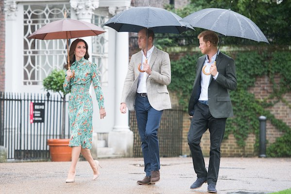 "<div class=""meta image-caption""><div class=""origin-logo origin-image wls""><span>wls</span></div><span class=""caption-text"">Prince William, Duke of Cambridge, Catherine, Duchess of Cambridge and Prince Harry visit The Sunken Garden at Kensington Palace on August 30, 2017 in London, England.  (Samir Hussein/Contributor)</span></div>"