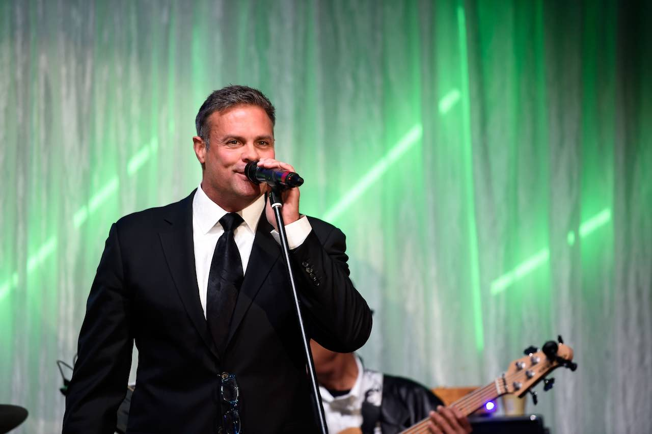 <div class='meta'><div class='origin-logo' data-origin='Creative Content'></div><span class='caption-text' data-credit='Stephen J. Cohen/Getty'>Troy Gentry of Montgomery Gentry performs during the 29th Barnstable Brown Kentucky Derby Eve Gala on May 5, 2017 in Louisville, Kentucky.</span></div>