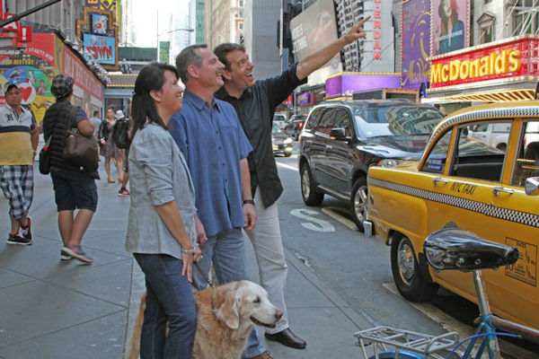 <div class='meta'><div class='origin-logo' data-origin='none'></div><span class='caption-text' data-credit='Photo/BarkPost'>Bretagne was treated to a ''dog's best day'' around the city by Bark Post and Post and 1 Hotel Central Park.</span></div>