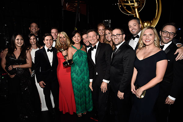 "<div class=""meta image-caption""><div class=""origin-logo origin-image none""><span>none</span></div><span class=""caption-text"">The team from ""Shark Tank"", winners of the award for outstanding structured reality program attend night two of the Television Academy's 2016 Creative Arts Emmy Awards. (Dan Steinberg/Invision for the Television Academy/AP Images)</span></div>"