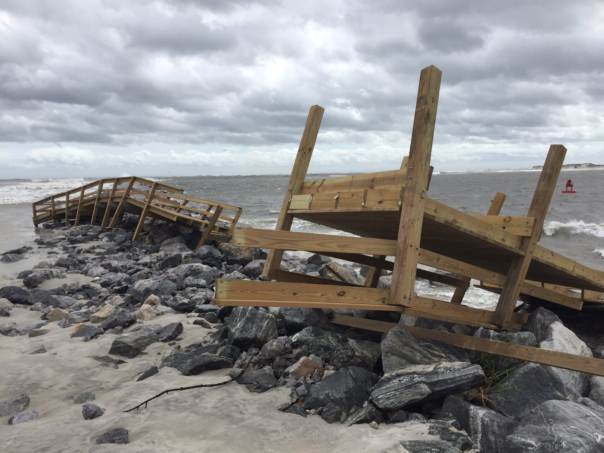 <div class='meta'><div class='origin-logo' data-origin='none'></div><span class='caption-text' data-credit='Mike Springer/WFTV'>Ponce Inlet boardwalk near Daytona Beach was destroyed by the storm.</span></div>