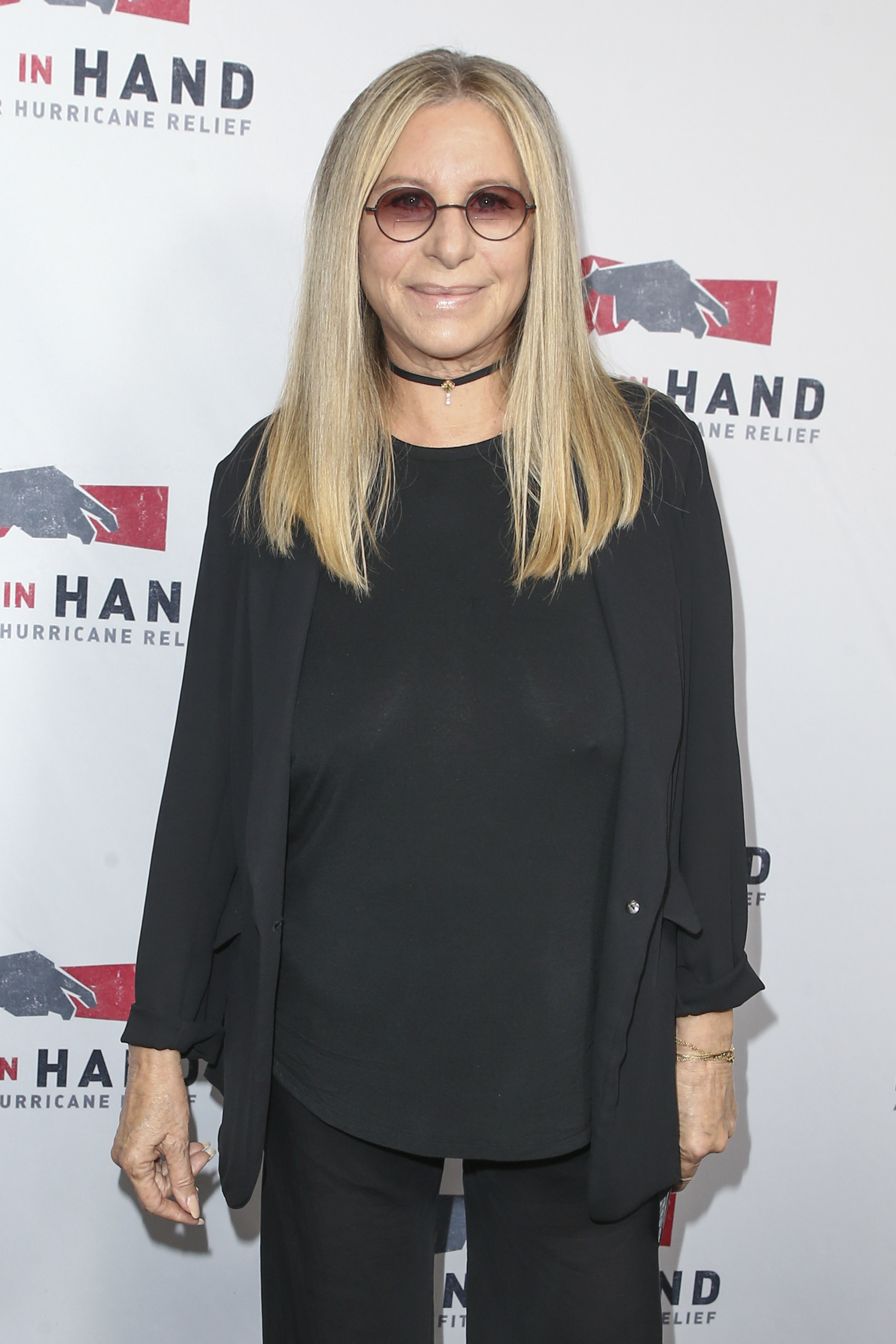 "<div class=""meta image-caption""><div class=""origin-logo origin-image none""><span>none</span></div><span class=""caption-text"">Barbra Streisand attends the Hand in Hand: A Benefit for Hurricane Harvey Relief held at Universal Studios Back Lot on Tuesday, Sept. 12, 2017 in Universal City, Calif. (John Salangsang/Invision/AP)</span></div>"