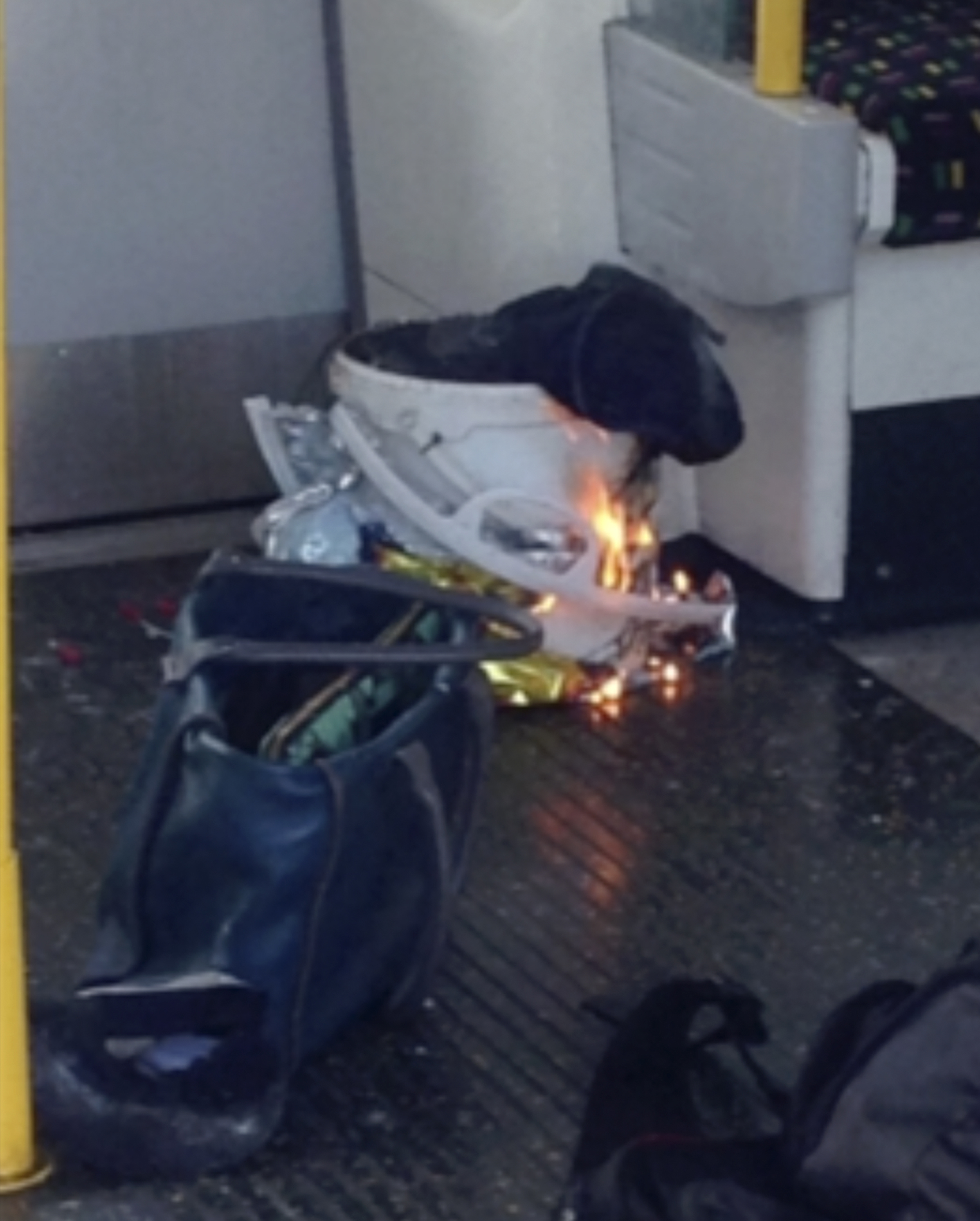 "<div class=""meta image-caption""><div class=""origin-logo origin-image none""><span>none</span></div><span class=""caption-text"">In this image made from video, fire raises at a southwest London subway station in London Friday, Sept. 15, 2017. (RRIGS via AP)</span></div>"