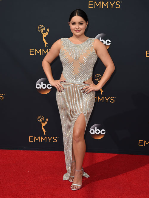<div class='meta'><div class='origin-logo' data-origin='AP'></div><span class='caption-text' data-credit='Photo by Jordan Strauss/Invision/AP'>Ariel Winter arrives at the 68th Primetime Emmy Awards on Sunday, Sept. 18, 2016, at the Microsoft Theater in Los Angeles.</span></div>