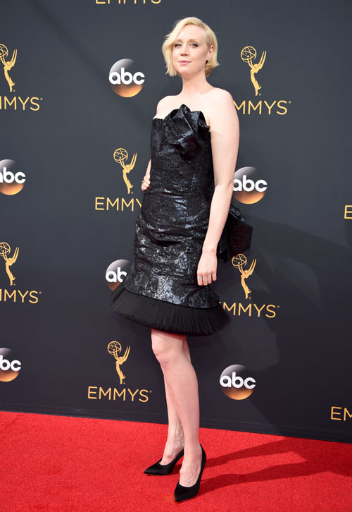 <div class='meta'><div class='origin-logo' data-origin='AP'></div><span class='caption-text' data-credit='Photo by Phil McCarten/Invision for the Television Academy/AP Images'>Gwendoline Christie arrives at the 68th Primetime Emmy Awards on Sunday, Sept. 18, 2016, at the Microsoft Theater in Los Angeles.</span></div>