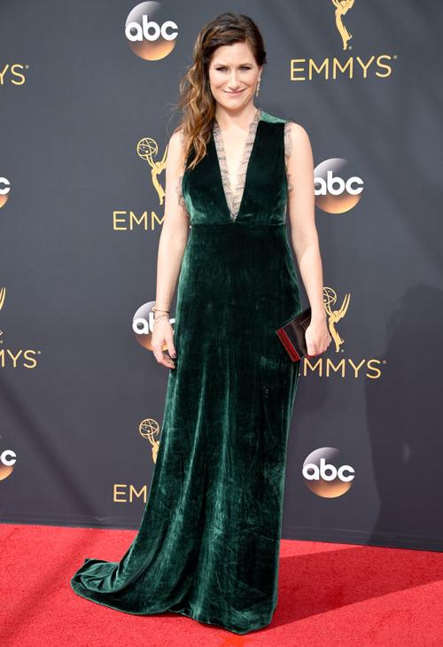 <div class='meta'><div class='origin-logo' data-origin='AP'></div><span class='caption-text' data-credit='Photo by Phil McCarten/Invision for the Television Academy/AP Images'>Kathryn Hahn arrives at the 68th Primetime Emmy Awards on Sunday, Sept. 18, 2016, at the Microsoft Theater in Los Angeles.</span></div>