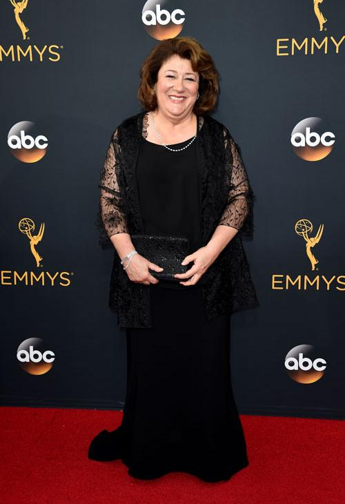 <div class='meta'><div class='origin-logo' data-origin='AP'></div><span class='caption-text' data-credit='Photo by Jordan Strauss/Invision/AP'>Margo Martindale arrives at the 68th Primetime Emmy Awards on Sunday, Sept. 18, 2016, at the Microsoft Theater in Los Angeles.</span></div>