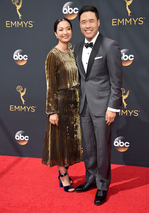 <div class='meta'><div class='origin-logo' data-origin='AP'></div><span class='caption-text' data-credit='Photo by Phil McCarten/Invision for the Television Academy/AP Images'>Jae Suh Park, left, and Randall Park arrive at the 68th Primetime Emmy Awards on Sunday, Sept. 18, 2016, at the Microsoft Theater in Los Angeles.</span></div>