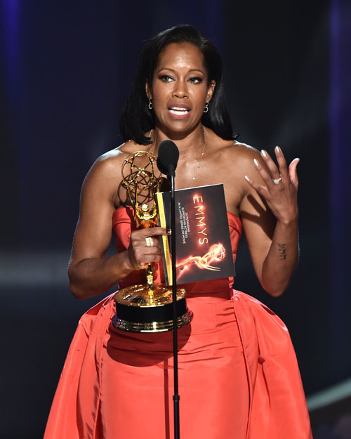 "<div class='meta'><div class='origin-logo' data-origin='AP'></div><span class='caption-text' data-credit='Photo by Vince Bucci/Invision for the Television Academy/AP Images'>Regina King accepts the award for outstanding supporting actress in a limited series or movie for ""American Crime"" at the 68th Primetime Emmy Awards on Sunday, Sept. 18, 2016.</span></div>"
