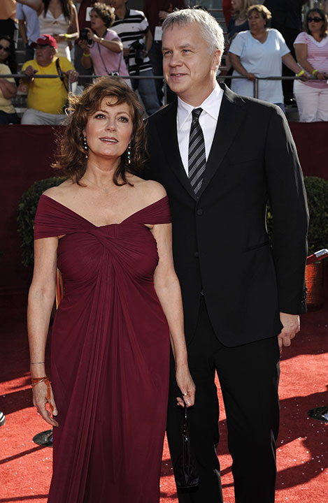 <div class='meta'><div class='origin-logo' data-origin='none'></div><span class='caption-text' data-credit='Chris Pizzello/AP Photo'>Susan Sarandon and Tim Robbins</span></div>