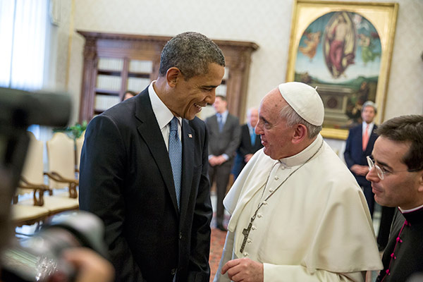 "<div class=""meta image-caption""><div class=""origin-logo origin-image wpvi""><span>WPVI</span></div><span class=""caption-text"">President Obama's visit at the Vatican to meet Pope Francis (March, 2014)</span></div>"