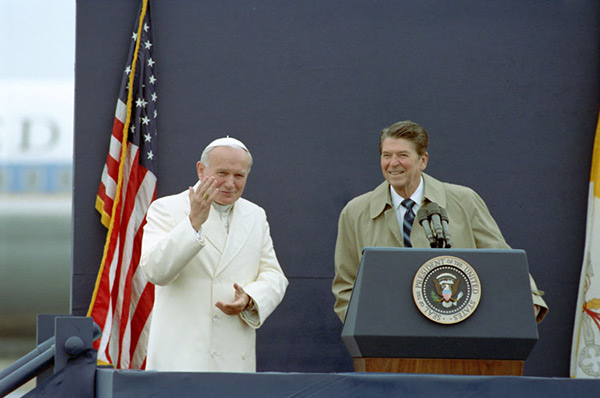 "<div class=""meta image-caption""><div class=""origin-logo origin-image wpvi""><span>WPVI</span></div><span class=""caption-text"">President Reagan with Pope John Paul II at Fairbanks airport in Fairbank, Alaska (5/2/84)</span></div>"