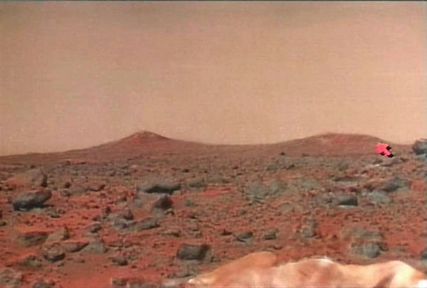 <div class='meta'><div class='origin-logo' data-origin='none'></div><span class='caption-text' data-credit='Photo/AP'>This photo was part of a series showing a panorama of the surface of the planet Mars released from NASA television in 1997.</span></div>