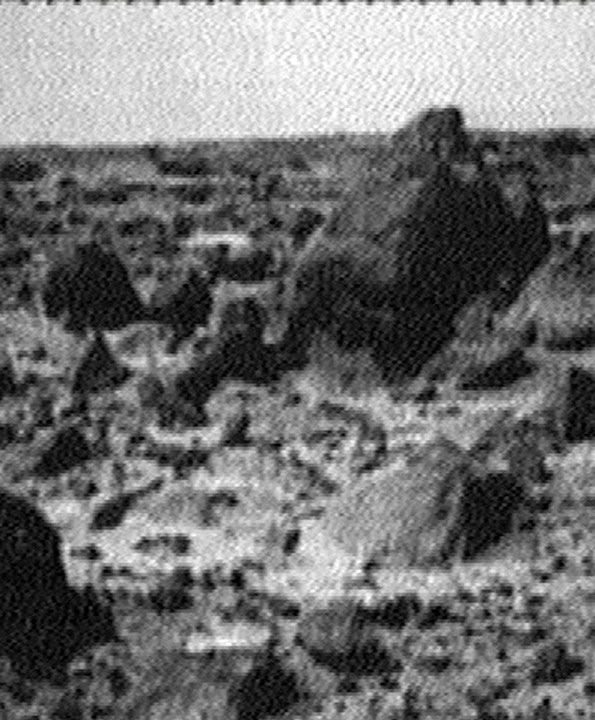 <div class='meta'><div class='origin-logo' data-origin='none'></div><span class='caption-text' data-credit='Photo/AP'>This was one of the first images received by the NASA Pathfinder, which landed on Mars on July 4, 1997.</span></div>