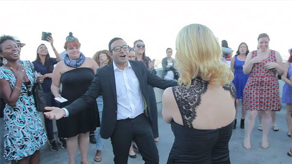 """<div class=""""meta image-caption""""><div class=""""origin-logo origin-image """"><span></span></div><span class=""""caption-text"""">Omar joins in the singing and also leads Susan in a dance, spinning her around. (Photo/YouTube, Omar Kenawi)</span></div>"""