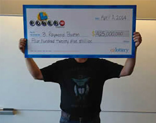 "<div class=""meta image-caption""><div class=""origin-logo origin-image none""><span>none</span></div><span class=""caption-text"">8. $425.4 million (Powerball). Won Feb. 19, 2014. Winning ticket sold in California to B. Raymond Buxton. (Powerball)</span></div>"