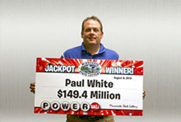 <div class='meta'><div class='origin-logo' data-origin='none'></div><span class='caption-text' data-credit='Powerball'>7. $448.4 million (Powerball). Winning ticket claimed for Aug. 7, 2013 jackpot by Paul White of Ham Lake, Minn.</span></div>