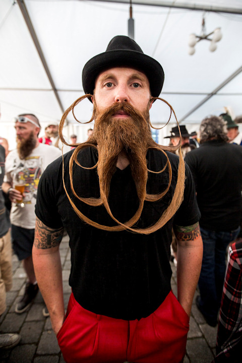 <div class='meta'><div class='origin-logo' data-origin='none'></div><span class='caption-text' data-credit='Photo by Jan Hetfleisch/Getty Images'>A contestant in the World Beard and Mustache Championships poses on Oct. 3, 2015 in Leogang, Austria.</span></div>