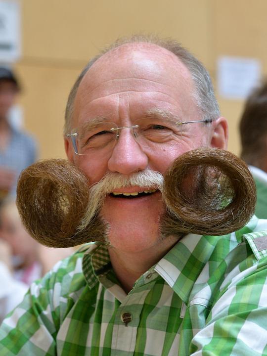 <div class='meta'><div class='origin-logo' data-origin='none'></div><span class='caption-text' data-credit='AP Photo/Kerstin Joensson'>A participant poses for photographers during the &#34;World Beard Championship&#34; in Leogang, Austria Oct. 4.</span></div>