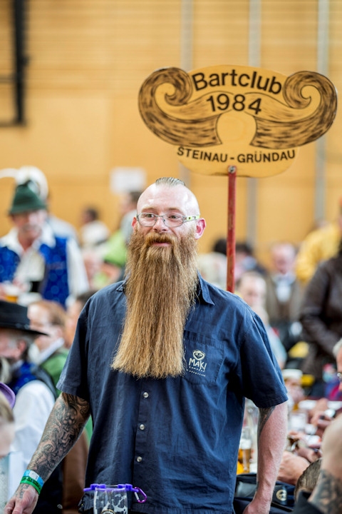 <div class='meta'><div class='origin-logo' data-origin='none'></div><span class='caption-text' data-credit='Photo by Jan Hetfleisch/Getty Images'>A contestant of the World Beard and Mustache Championships poses for a picture during the opening ceremony on Oct. 3.</span></div>