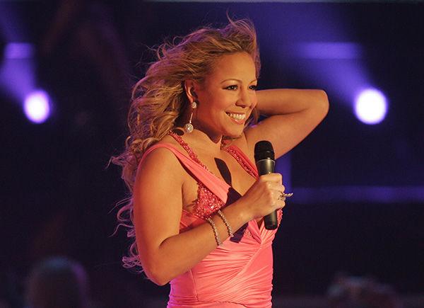 <div class='meta'><div class='origin-logo' data-origin='none'></div><span class='caption-text' data-credit='AP'>U.S. singer Mariah Carey performs during the German 'Echo 2005' music award ceremony in Berlin on Saturday, April 2, 2005.</span></div>
